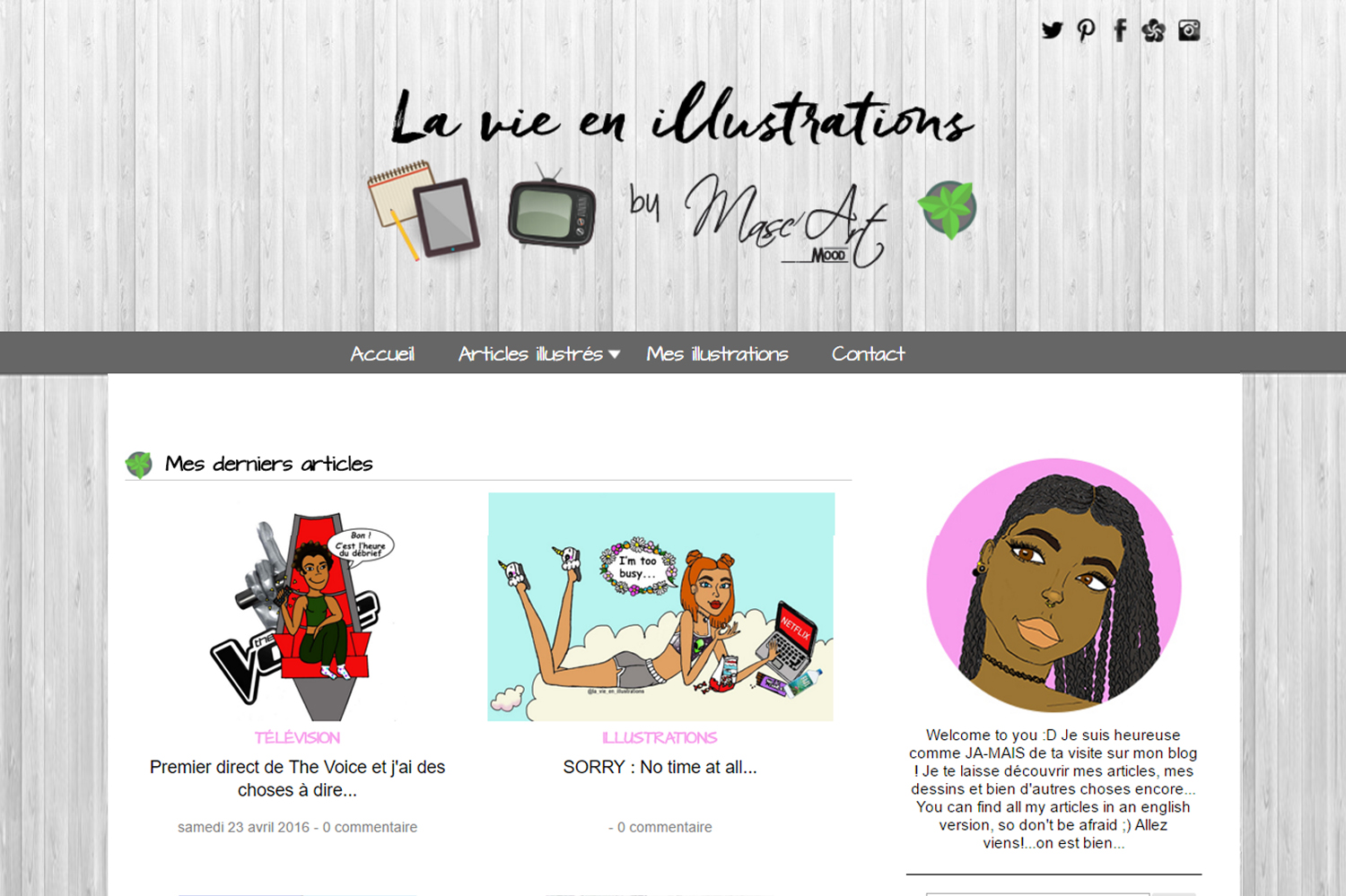 La vie en illustrations