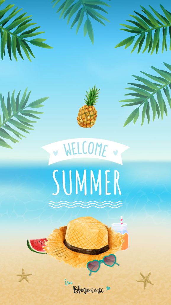Welcome summer fond d cran 6 tre blogueuse for Ete wallpaper